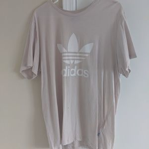 Tan Adidas Boyfriend Shirt